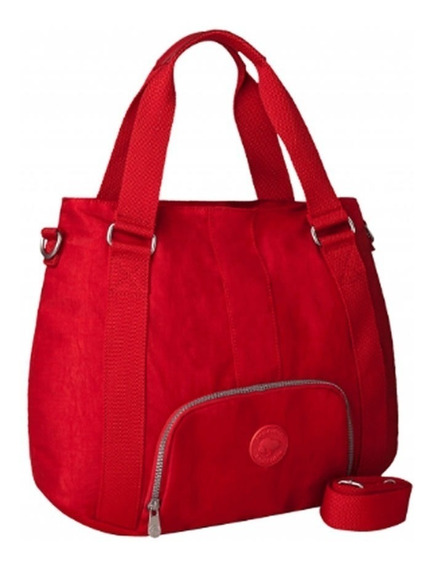 Bolsa Snoopy Sp3805 Coleção Be Sporty Transversal Vermelho