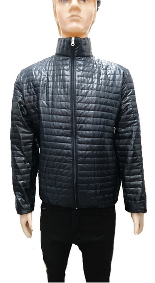 Campera Inflable Hombre Campera Microfibra Simil Pluma,local