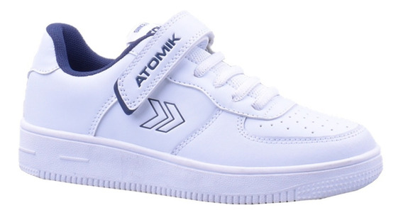 Zapatillas Atomik Escolar Colegio Modelo Cambridge Manias
