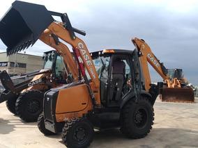 Entrada R$ 5.000,00 Retroescavadeira Case 580n 4x4 2018 0km
