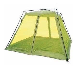 Gazebo Automatico Com Mosquiteiro Camping Praia Top Echolife
