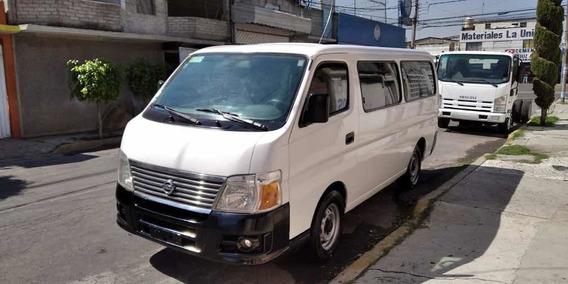 Nissan Urvan Urvan 9 Pasajeros