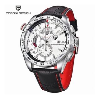 Reloj Pagani Design Cx-2492c Cuero Cuarzo Entrega Inmediata