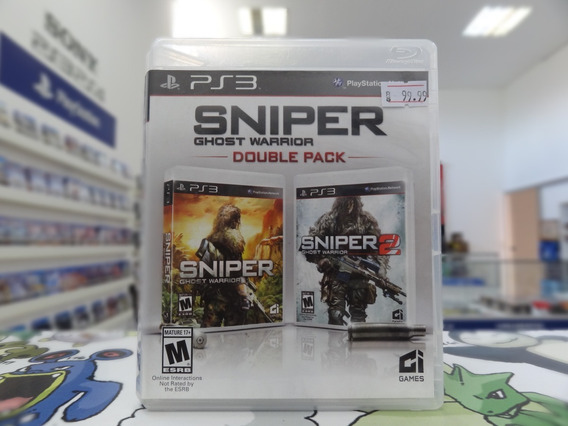 Sniper Ghost Warrior Double Pack Ps3 Midia Fisica Usado