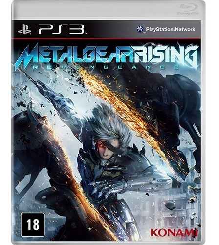 Jogo Metal Gear Rising Revengeance Ps3 M. Fisica
