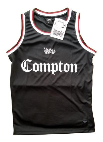 Camiseta Regata Basquete Chronic Compton Original