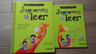 Libro: Juguemos A Leer (10 Juegos) - Libro+cuaderno