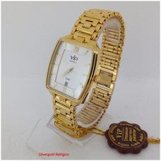 2da4f6e4ba1 Relogio Vip Dourado - Relógio Feminino no Mercado Livre Brasil