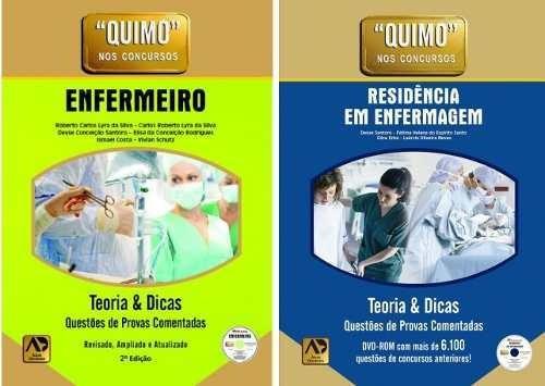 Combo - Quimo - Enfermeiro 2ªed + Residência Em Enferm. 1ªed