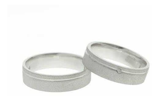 Aliança Namoro De Prata 5mm Promoção