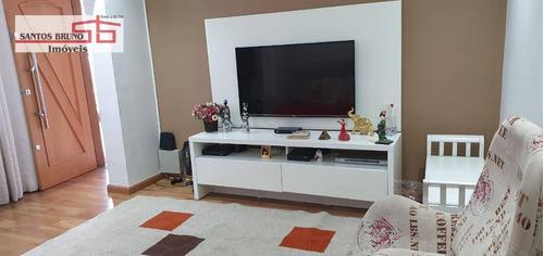 Sobrado Com 3 Dormitórios À Venda, 250 M² Por R$ 799.000,00 - Freguesia Do Ó - São Paulo/sp - So1397