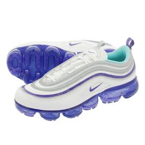 Tênis Nike Air Vapormax 97 White Aquavarsity Purple Metallic
