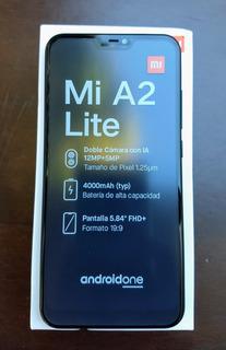 Celular Xiaomi Mi A2 Lite 64gb+4gb Black +capa+película