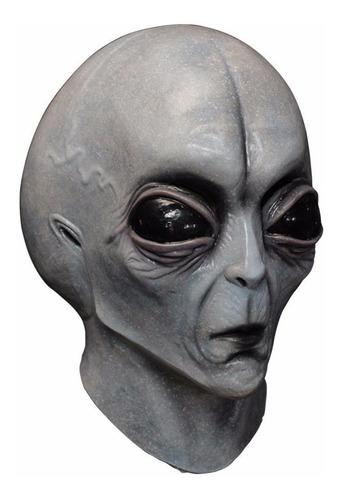 Imagen 1 de 6 de Máscara De Látex Area 51 Extraterrestre Alien Alienígena