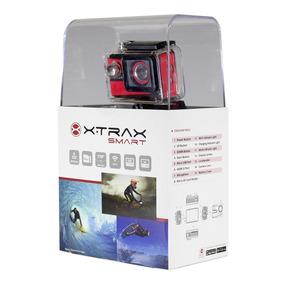 Câmera De Ação Xtrax Smart 4k Ultra Hd Com Acessórios
