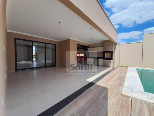 Imagem 1 de 30 de Casa À Venda, 395 M² Por R$ 2.350.000,00 - Alphaville Iii - Ribeirão Preto/sp - Ca2822
