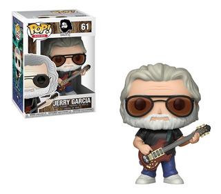Funko Pop Jerry Garcia 61 Nuevo Original Cerrado