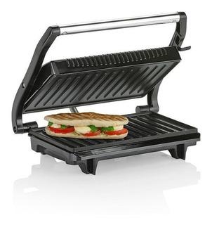 Grill Parrilla Eléctrica Sandwichera Plancha Carne Winco W14