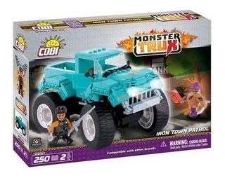 Monster Truck Patrulla- Bloques Para Armar-cobi