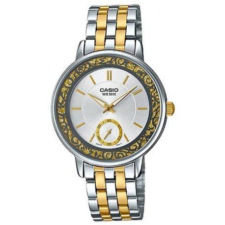Relógio Feminino Casio Paptone Analógico Ltp-e408sg-7avdf