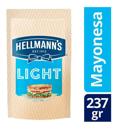 Mayonesa Hellmann's Light X 237 Gr