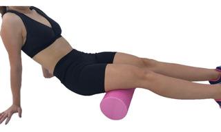 Foam Roller Rolo De Espuma Ginastica Pilates Yoga 15 X 45cm