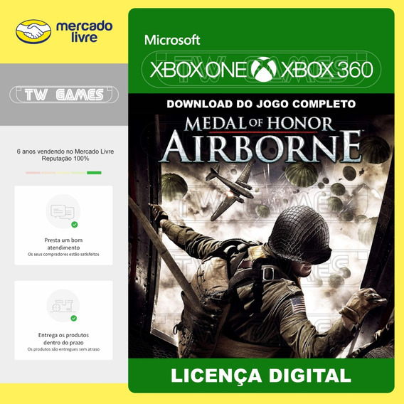 Medal Of Honor Airborne Retrocompativel Xbox One Xbox 360