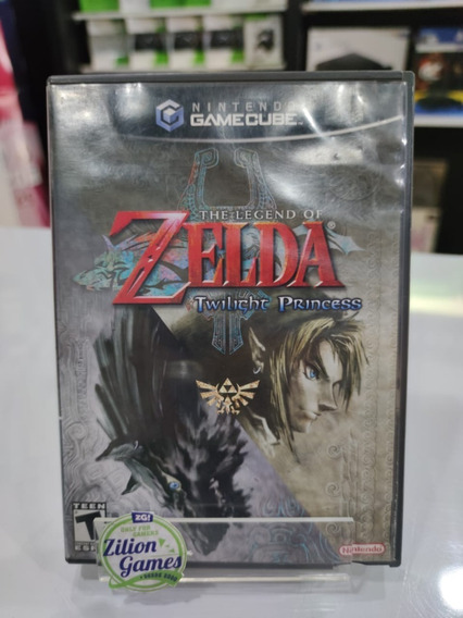 The Legend Of Zelda Twilight Princes Game Cube