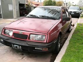 Ford Sierra 2.3 Ghia Sx 1988 Bordo