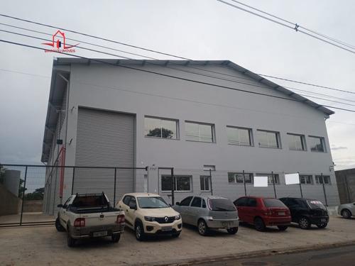 Imagem 1 de 24 de Galpão/pavilhão Para Alugar No Bairro Chácaras São Bento - 4133-2