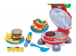Juguete Masas Mi Primer Fabrica Hamburguesas Babymovil 8000