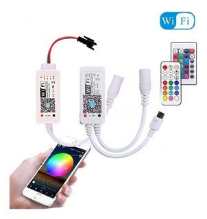 Controlador Wifi Control Remoto Para Tira De Led 5050