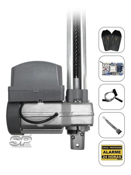 Kit Motor Portão Eletrônico Basculante Ppa Penta 1/2 Rápido