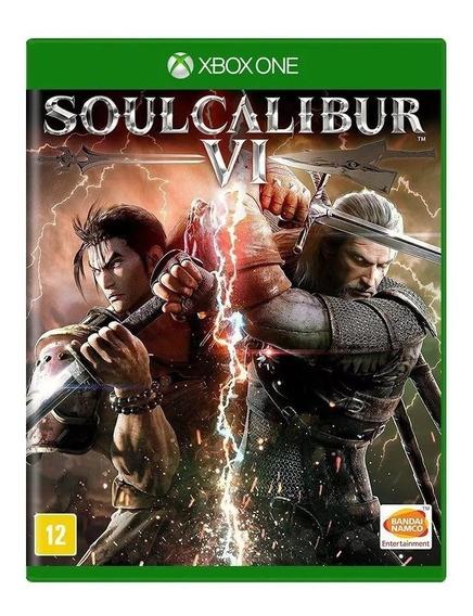 Soulcalibur Vi Xbox One Mídía Física Lacrado Legendado Pt Br