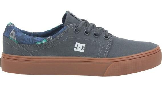 Tenis Dc Shoes Trase Tx Se La Grey Gum