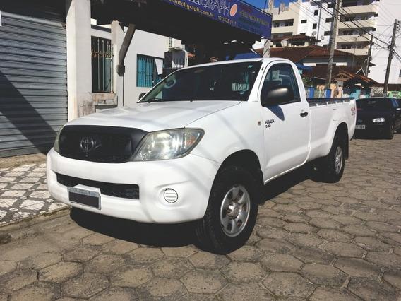 Toyota Hilux 4x4 Baixou Preço 2009 Cab Simples, Turbo Diesel