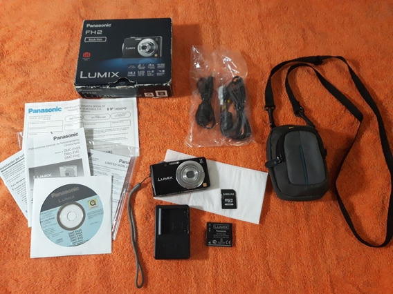 Cámara Digital Lumix Panasonic 14.1 Mp Hd Zoom 4k (leer)