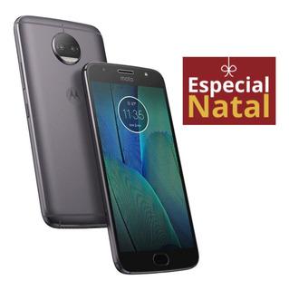 Motorola G5s Plus 32gb Platinum Básico De Vitrine Excelente