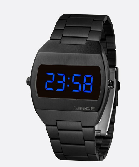 Relógio Masculino Digital Led Lince Mdn4621l Dxpx