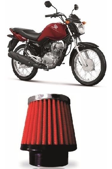 Filtro De Ar Esportivo Red Moto Cg Titan 150c 2005 Rci03vm
