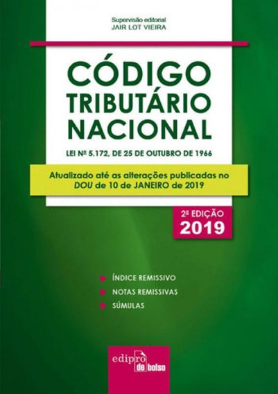 Codigo Tributario Nacional - Mini - 2019