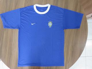Brasil Camisa De Treino Original Nike Ano 2001