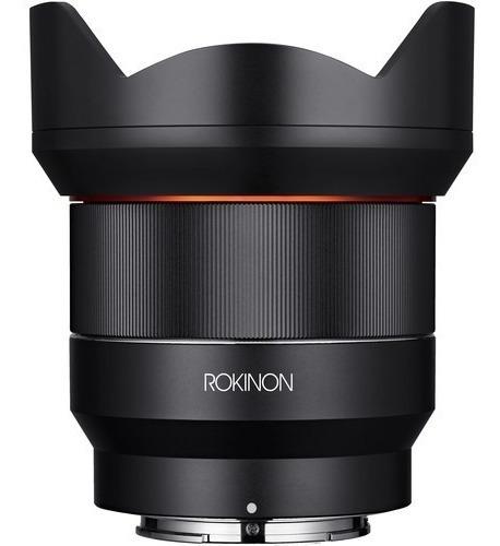 Lente Rokinon Af 14mm F/2.8 Fe Sony E-mount Em 12x C/recibo