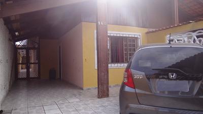 Casa + Edícula À 100 Metros Da Praia Em Mongaguá!!ref.:5722