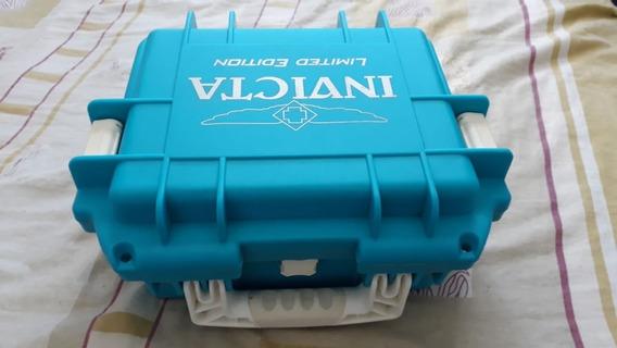 Maleta Box Para 03 Relógios Invicta, Nova. 100% Original.