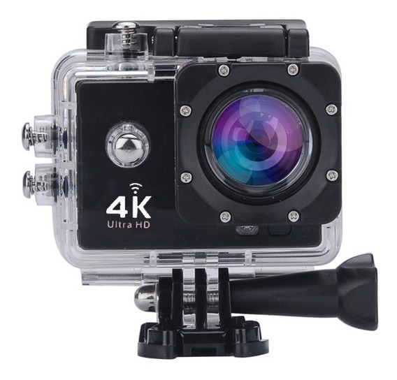 Camera Video Wifi 4k Acessorios Hd 16mp Prova Dagua