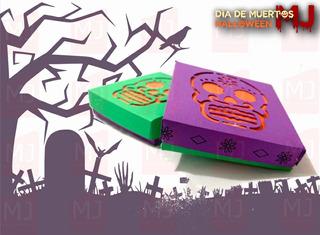 Caja Para Galletas Halloween Dia De Muertos