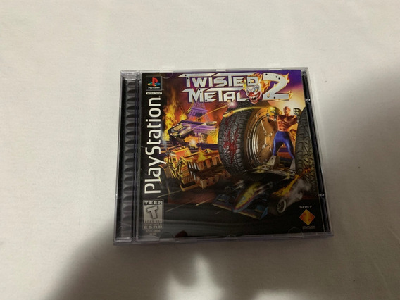 Twisted Metal 2 Ps1 Americano Original