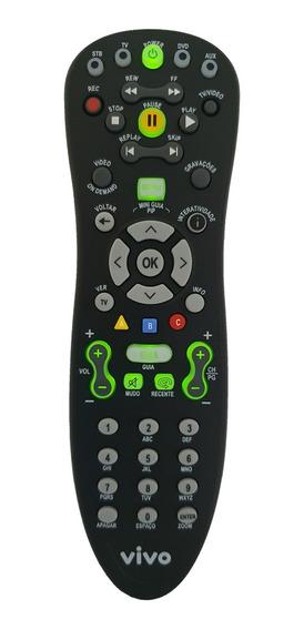 Controle Remoto Para Vivo Fibra Original At6400 C/ Logo Vivo