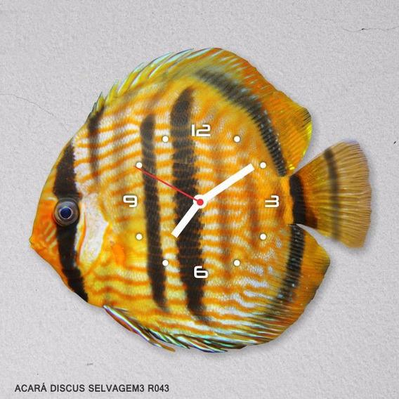 Relógio De Parede Peixes Ornamentais Frete R$ 20,00